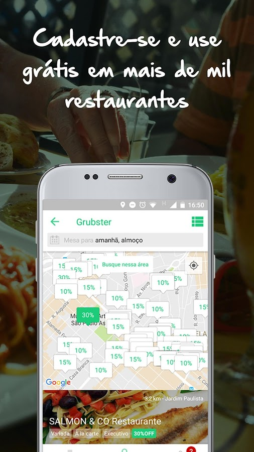 Grubster - Restaurantes- screenshot