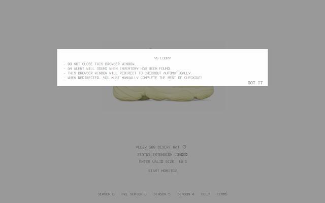 YS Loopy (Yeezy Supply Monitor)