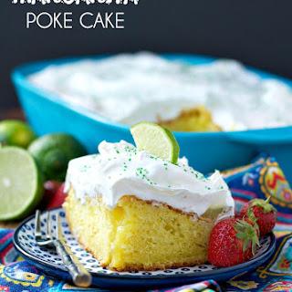 Margarita Poke Cake