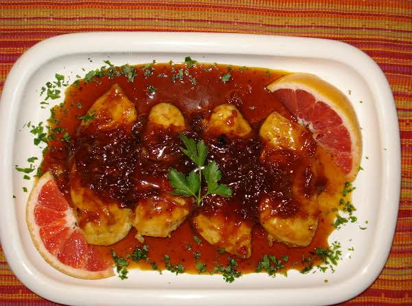 Chicken In Grapefruit Sauce Recipe