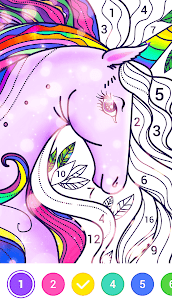 Magic Paint – Color by number & Pixel Art Apk Download For Android 5