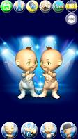 Screenshot of Talking Baby Twins - Babsy