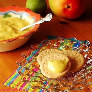 Mango Curd - {Five Ingredient Friday}.