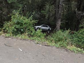 Photo: Uuups, da ist wohl jemand vom rechten Weg abgekommen... vor einer ganzen Weile