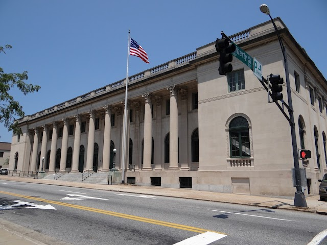 Old Winston-Salem, NC post office
