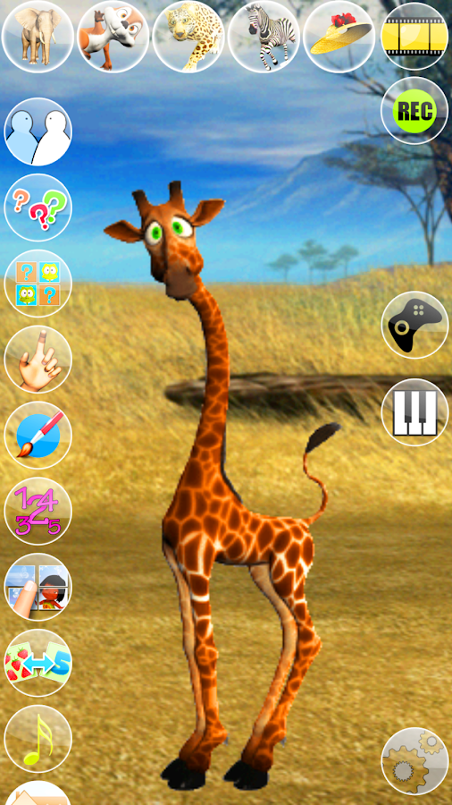 Talking George The Giraffe- screenshot