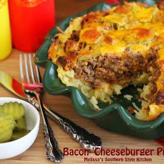 Bacon Cheeseburger Pie.