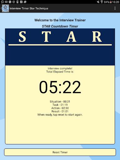 Interview STAR Timer Technique screenshot 4