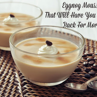 Eggnog Mousse Recipes