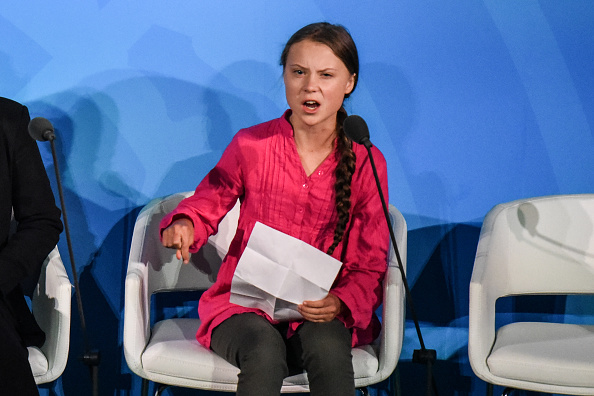 Greta Thunberg is Time Magazine's person of the year, and the climate is glad