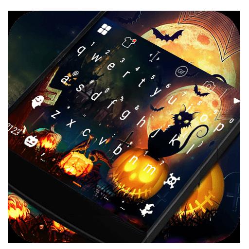 Halloween Night Keyboard Theme 遊戲 App LOGO-硬是要APP