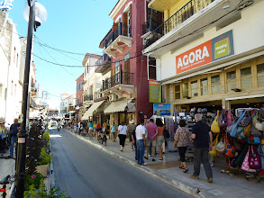 Photo: On the street of Chania, Crete, Greece. Chania is the 2nd largest city on Crete.