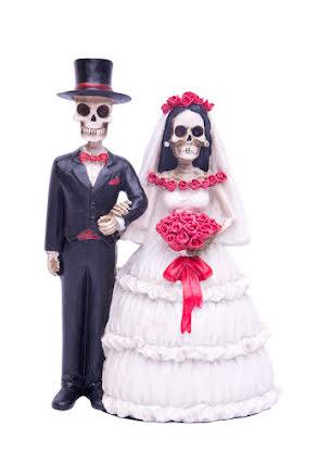 Brudpar, skelett
