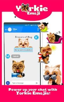 Download Yorkshire Terrier Dog Emoji – Yorkie Stickers App APK