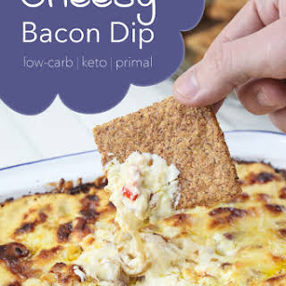 Low-Carb Cheesy Bacon Dip.