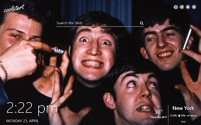 The Beatles HD Wallpapers New Tab Theme
