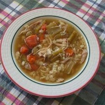 Chicken Vegetable Soup Recipe