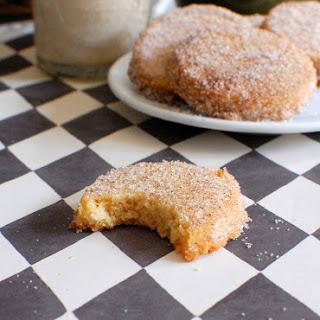 Cinnamon Sugar Shortbread.