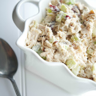Cranberry Pecan Turkey Salad Recipe