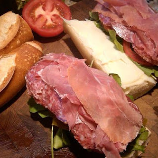 Italian Hero Panini Sandwich.