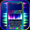 Super Neon 3d Keyboard Theme icon