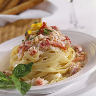 Pasta with Lobster Sauce Recipe