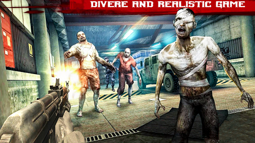 Zombie shooter 3d : Zombie shooting games 1.3 screenshots 3