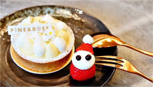 松薇食品有限公司/東門捷運站~點甜點就送草莓聖誕老公公,店裡還有出伴手禮,自用送禮兩相宜