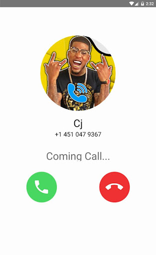 Fake Call With Cj... 1 screenshots 1