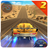 Drift car city traffic racer 2