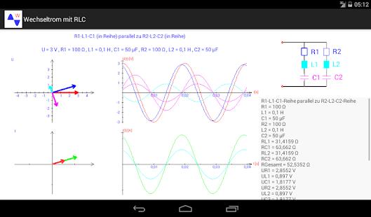 Wechselstrom mit RLC – Apps bei Google Play