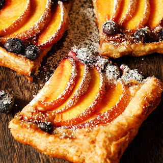 Peach and Blueberry Cream Cheese Pastry Recipe
