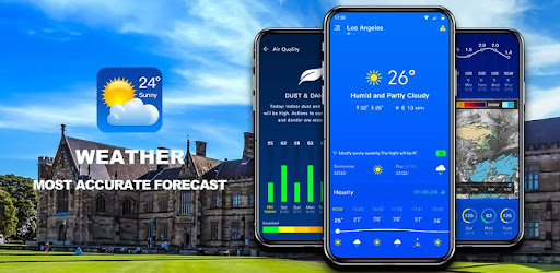 The most accurate weather app, hourly and daily weather, severe weather alerts🌪