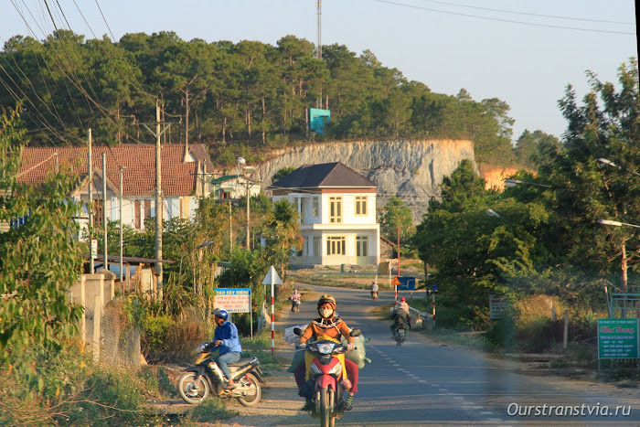 Французский курорт Далат во Вьетнаме