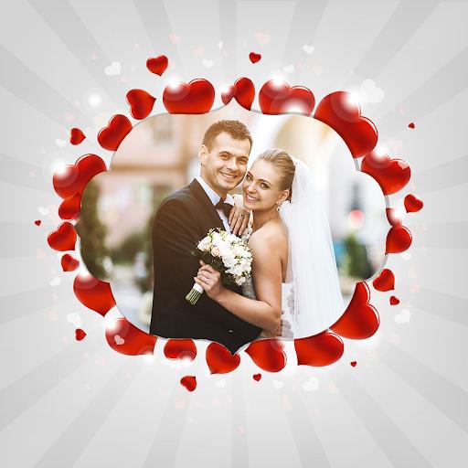 Lovely Heart Photo Frame screenshot 2