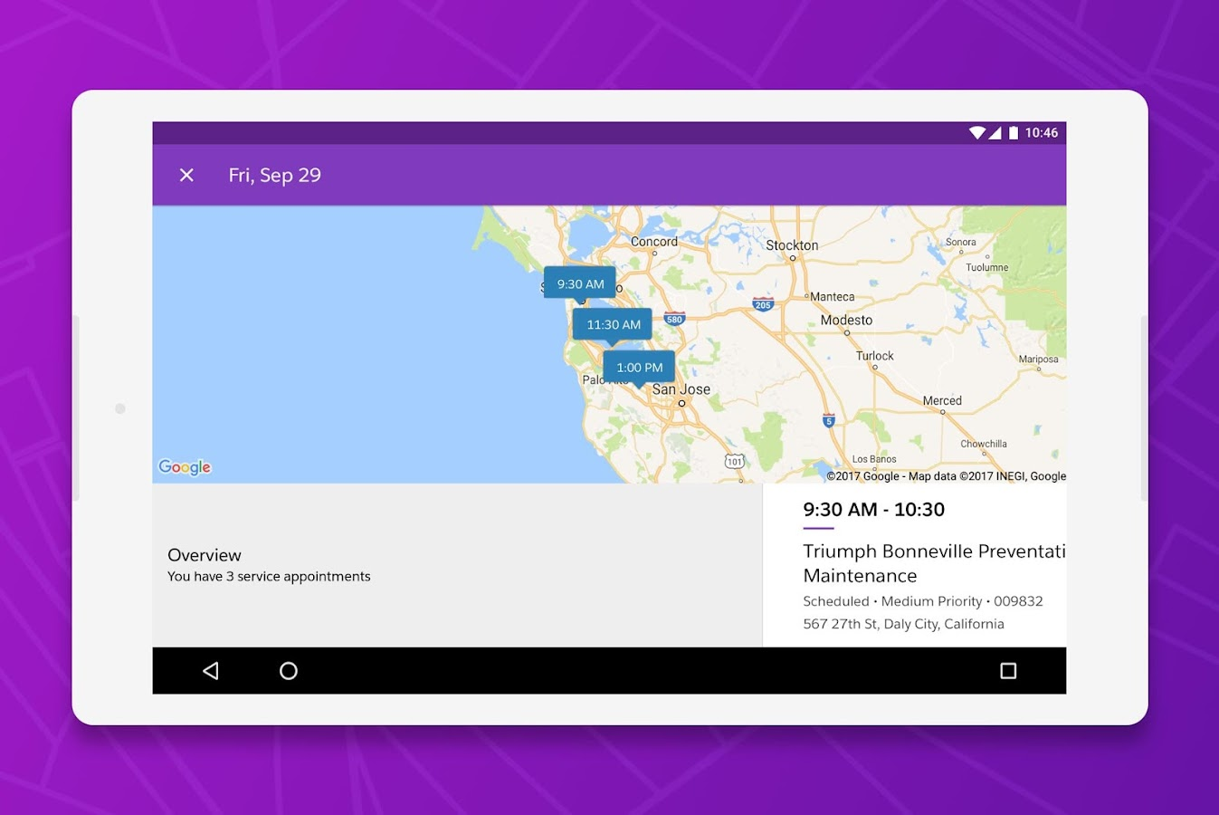 Salesforce Field Service Management : Field service lightning android apps on google play