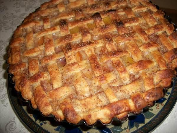 My  Favorite  Peach Pie Recipe