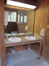 Photo: Omikse Bathhouse:  There are 4 sinks in each bathhouse.