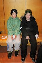 Photo: Vili ja Joonas odottivat malttamattomina ilotulitusta.