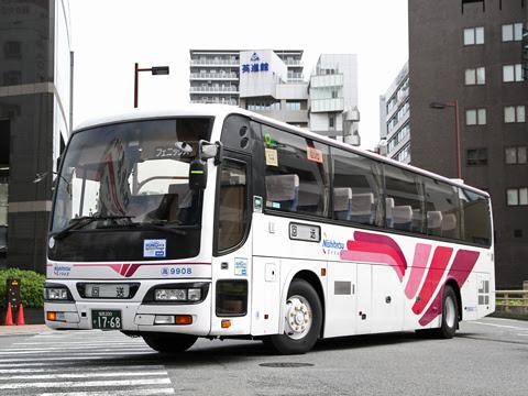 西鉄高速バス「フェニックス号」 9908