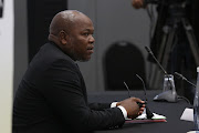 Former National Director of Public Prosecutions Mxolisi Nxasana at the commission of inquiry into state capture in Johannesburg.