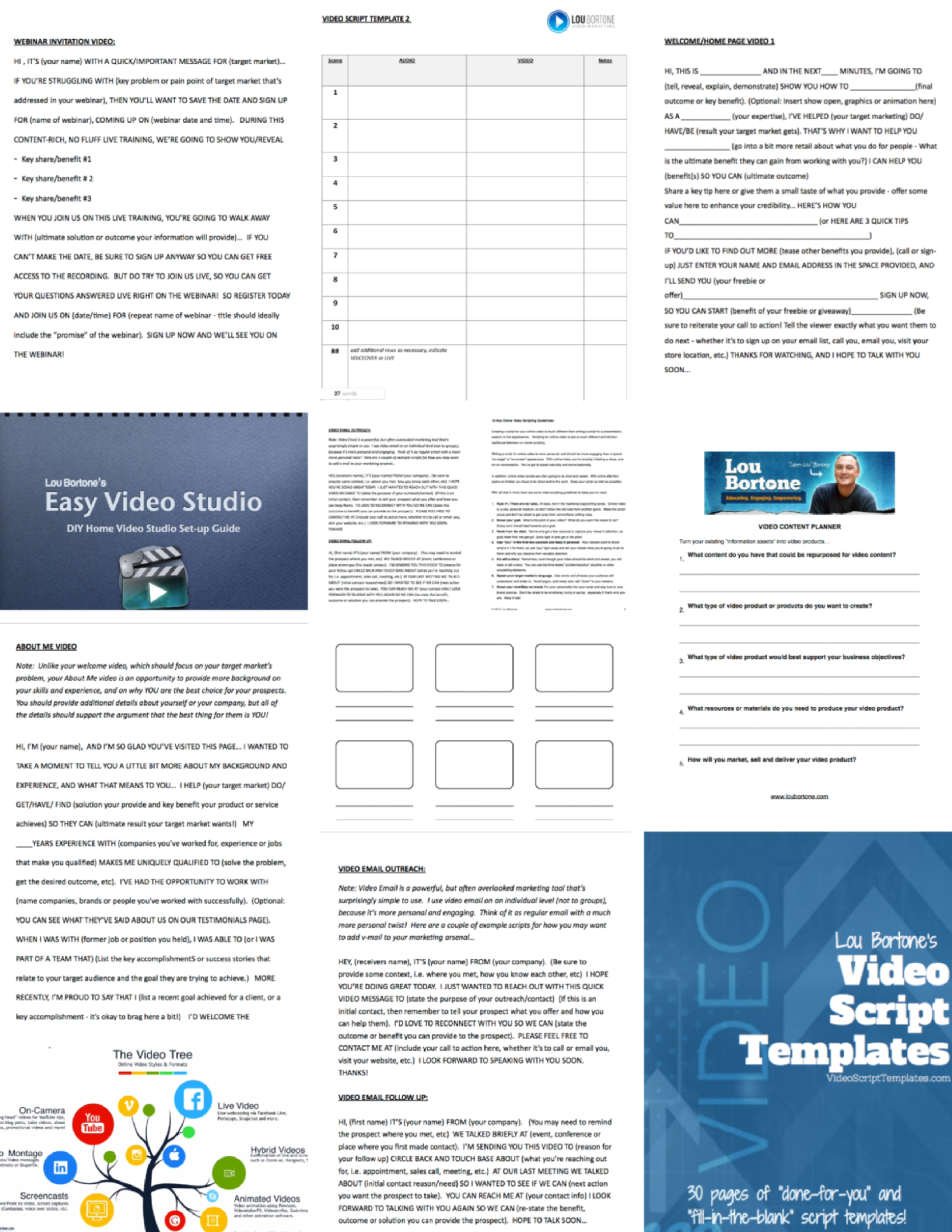 Examples Of Home Page Welcome Video Scripts S Videos Explainer Live And Interview You Channel Trailer