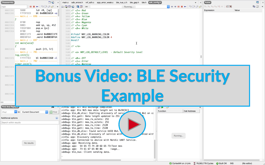 BLE Security Example Image