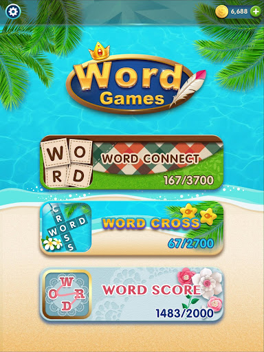 Word Games(Cross, Connect, Search) - screenshot