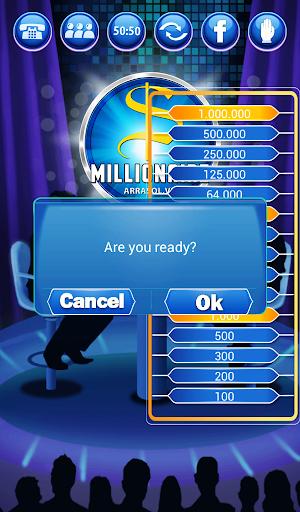 Millionaire Quiz 2018 - Million Trivia Game Free 3.26 screenshots 13