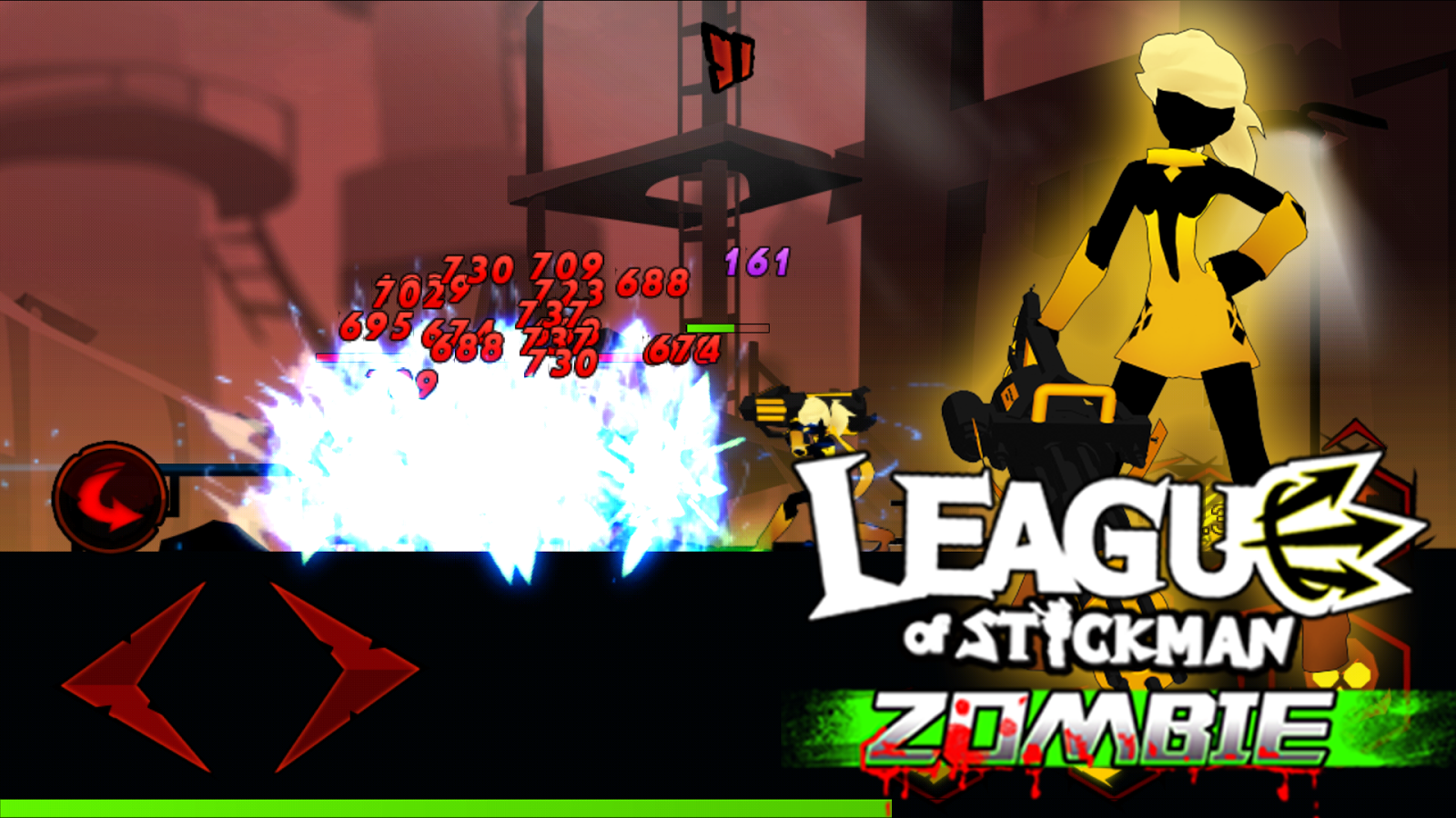 Screenshots of Zombie Avengers:Stickman for iPhone