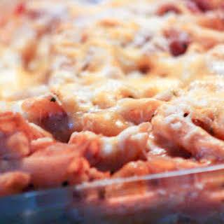 Lasagna Penne Pasta Casserole.