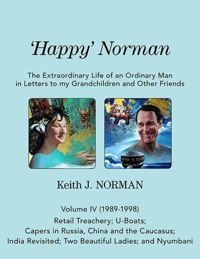 'Happy' Norman, Volume IV (1989-1998) cover