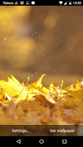 Autumn Leaves Live Wallpaper screenshot 1