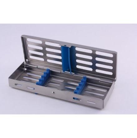 Kassettlåda med låsbart lock 180x125x22 mm passar B23